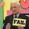 """av8rmike: Bob Barker holding """"FAIL"""" sign (fail)"""