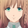 eloie: the female heroine from amnesia, a girl with light brown hair and green eyes. (Default)