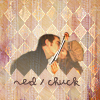 tinny: Pushing Daisies - Ned and Chuck kissing through plastic wrap (pd_ned_chuck)