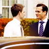 mskatej: (Suits: Harvey and Mike delight)