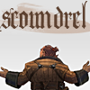 "jenna_thorn: Varric with text ""Scoundrel"" (Scoundrel)"