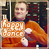 "jenna_thorn: text ""happy dance"" Joyfully smug Rodney McKay (happy dance)"
