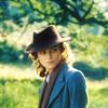 watersword: Keira Knightley as Cecilia Tallis in the film adaptation of Ian McEwan's Atonement, dir. Joe Wright; wearing a hat. (Keira Knightley: English gentlewoman)