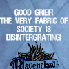 "fainiel: (Ravenclaw Boober Fraggle ""Good Grief!"")"