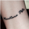 inkquillandhope: A tattoo on my leg that has great personal meaning for me (NocituraPetome)