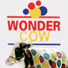 ziparumpazoo: White cow with red, blue, and yellow polka dots (GeneTheWonderCow)