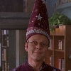 lighterthanair: Rupert Giles in a magic hat (mine is a magic hat)