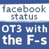 nenya_kanadka: Facebook status: OT3 with the F-s (Comfortable Courtesan facebook)