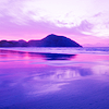 musyc: Landscape and sunset in purples (Purple: Horizon)
