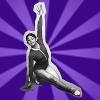 nanila: nellie kim is awesome (purple nellie)