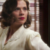 lizcommotion: Agent Carter, in white blouse, looking determined (agent carter determined)