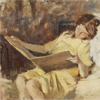 benedict: (fiction: two girls reading)