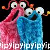james: two muppet martians from sesame street saying yip yip yip (martians yip yip yip)
