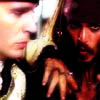 ysobel: Jack Sparrow and a very unimpressed Norrington (PotC) (sparrington)