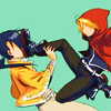 ditz: edward elric and ling yao | in yo face (08.)