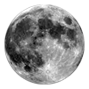 pointysparkles: moon with transparent background (moon)