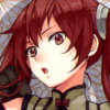 mikogalatea: Severa from Fire Emblem 13, brushing one of her pigtails over her shoulder. ([FE13] Severa)