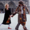 "sorryforlaughing: Four and Romana in the Doctor Who episode ""City of Death."" (City of Death)"