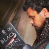 sorryforlaughing: Musketeers actor Howard Charles reading The Black Count. (Porthos & the Black Count)