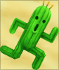 stealth_noodle: A Cactuar running to the right. (cactuar)