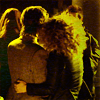 trialia: Back view of Alex Kingston and Matt Smith hugging on the set of Doctor Who. (who] alex/matt - hug)