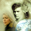 tardis_stowaway: A planet underneath the faces of Rose, the Tenth Doctor, and Jack (planet OT3 ten/rose/jack)