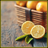 lemon_badgeress: basket of lemons, with one cut lemon being decorative (lemon) (Default)