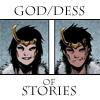 calime: Agent of Asgard male and female Loki text god/dess of stories (Loki god/dess  of stories)