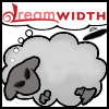 amalnahurriyeh: XF: Dreamwidth Sheep, with alien eyes and little UFO in the background. (alien sheep)