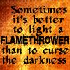 coraa: (hopeful flamethrower)