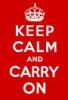coraa: (keep calm and carry on)
