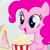 coraa: (popcorn pinkie pie)