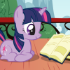 coraa: (twilight sparkle reads 2)