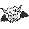 thistledear: gleeful chibi aerael head (glee!)