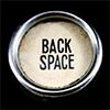 write_good: typewriter backspace key (backspace)