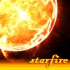 "syntaxofthings: A boiling planet of fire, the text ""Starfire"" ([Planetary] Starfire)"