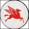 nightdog_barks: Flying horse Pegasus in red (Red Pegasus)