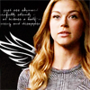 st_aurafina: Bobbi Morse with a wing on her shoulder (Agents of SHIELD: Mockingbird)
