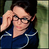 quiet_curiosity: audrey hepburn from the movie charade (glasses)