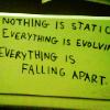 """nachtmannschaften: Text: """"Everything is static, everything is evolving, everything is falling apart."""" (Black Widow)"""