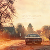 cuda: Dean's Impala in an autumn setting (Autumn Impala)