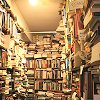 lizcommotion: bookshelves stuffed with books (books - lots)