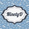 ninetydegrees: Text: NinetyD (label)