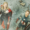 samjohnsson: Tony must be doing something stupid. Again. (Avengers Cap and Thor)