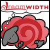 helens78: A sheep with the DW logo on it dreams of Dreamwidth. (dreamsheep: dw swirl)