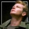 brightknightie: Nick looking up. (Nick)