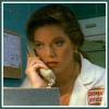 brightknightie: Natalie on the phone in her lab. (Natalie)