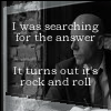 baronjanus: I was searching for the answer, it turns out it's rock and roll. Hugh Dillon Works Well With Others (C-Dillon creepy little thoughts)