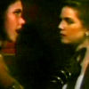 """brightknightie: Janette and Natalie in the Raven (""""It's your neck."""") (Nanette)"""