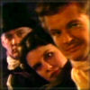 brightknightie: Lacroix, Janette and Nick in Victorian apparel (Trio Fang Gang)